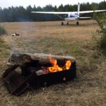 Airplane Camping: Nehalem Bay, Oregon Coast